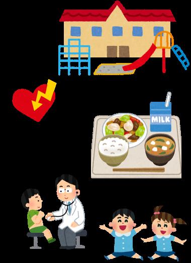 美心幼愛園 | 熊本市西区中島町の認可保育所,安心衛生,イラスト,