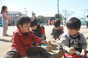 美心幼愛園 | 熊本市西区中島町の認可保育所,どろんこ遊び
